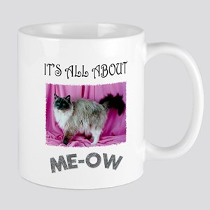 All About ME-OW Ragdoll Cat Mug