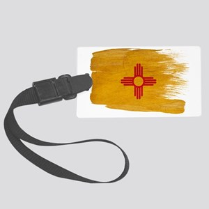 New Mexicotex3-paint styletex3-p Large Luggage Tag