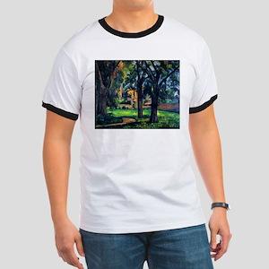 Chestnut Trees and Farm - Jas de Bouffan - Paul Ce