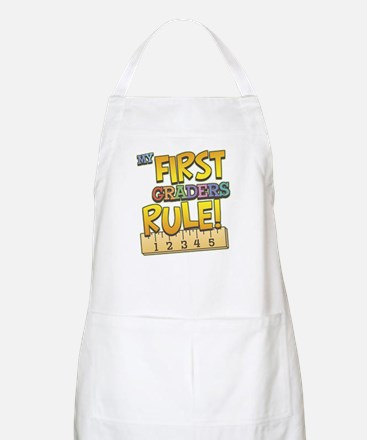 First Graders Rule BBQ Apron