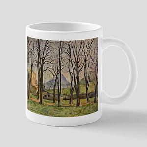 Chestnut Trees at Jas de Bouffan - Paul Cezanne -