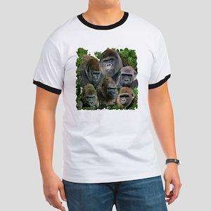 gorilla tee Ringer T