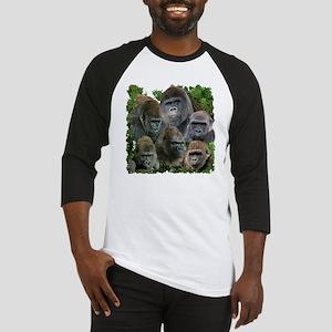 gorilla tee Baseball Jersey