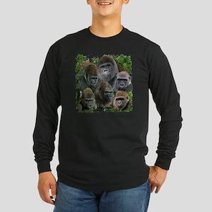 gorilla tee Long Sleeve Dark T-Shirt