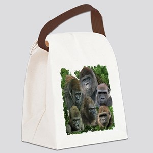gorilla tee Canvas Lunch Bag