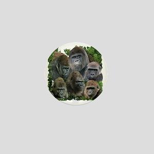 gorilla tee Mini Button