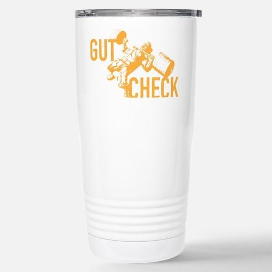 GUT CHECK Stainless Steel Travel Mug