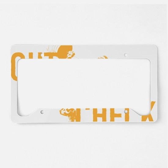 GUT CHECK License Plate Holder