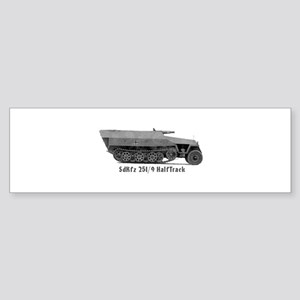 Halftrack Bumper Sticker