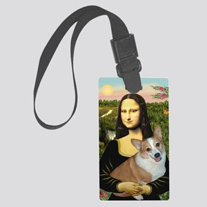 16x20-Mona-Lucy-REV Large Luggage Tag