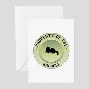 Ragdoll Property Greeting Cards (Pk of 10)