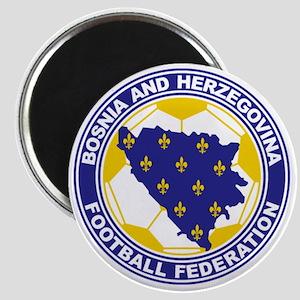 Bosnian Soccer crest Magnet