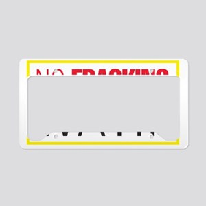 NFW_sq License Plate Holder