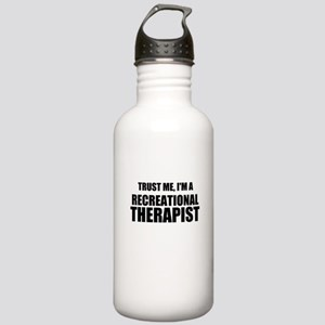 Trust Me, Im A Recreational Therapist Water Bottle