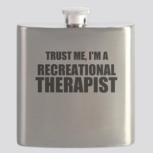 Trust Me, Im A Recreational Therapist Flask