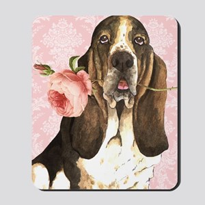 basset-kindle Mousepad