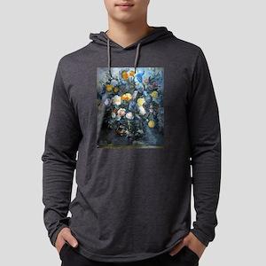 Flowers - Paul Cezanne - c1902 Mens Hooded Shirt