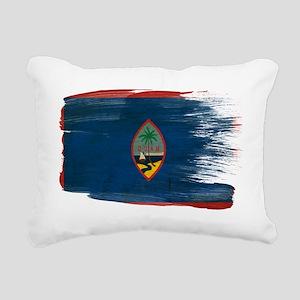 Guamtex3-paint style-pai Rectangular Canvas Pillow