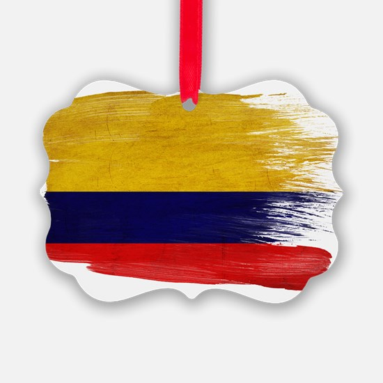 Colombiatex3-paint style-paint st Ornament