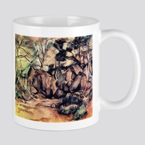 Forests with rocks - Paul Cezanne - c1880 11 oz Ce