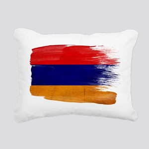 Armeniatex3-paint style- Rectangular Canvas Pillow
