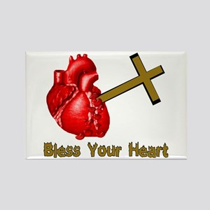 Bless Your Bloody Heart Rectangle Magnet