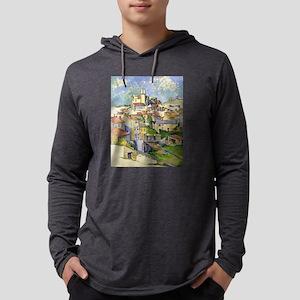 Garddanne - Paul Cezanne - c1885 Mens Hooded Shirt