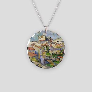 Garddanne - Paul Cezanne - c1885 Necklace Circle C