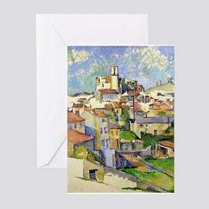 Garddanne - Paul Cezanne - c1885 Greeting Cards (P