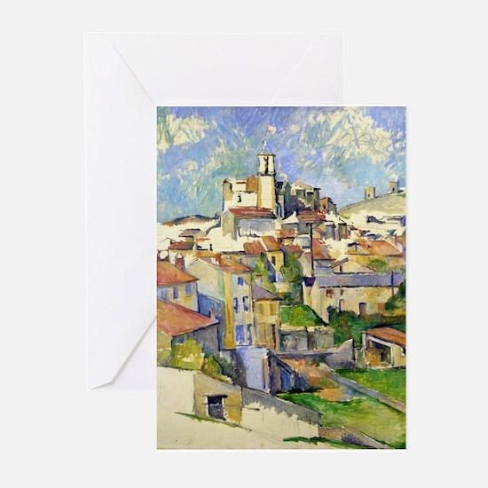 Garddanne - Paul Cezanne - c1885 Greeting Cards (P