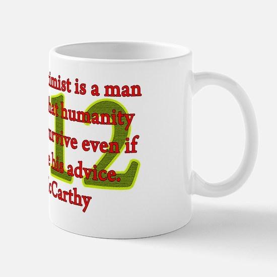 optimist - john mccarthy Mug