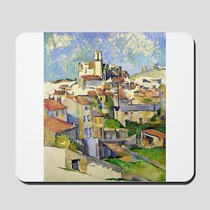 Garddanne - Paul Cezanne - c1885 Mousepad