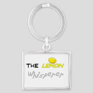 The lemon whisperer Landscape Keychain