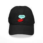 Kiss me I'm a muscian Black Cap