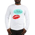 Kiss me I'm a muscian Long Sleeve T-Shirt