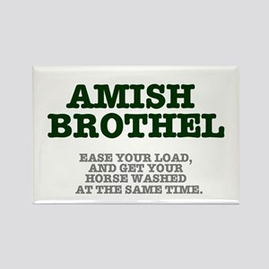 AMISH BROTHEL Rectangle Magnet