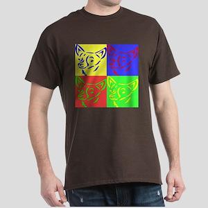 CHIHUAHUA POP ART Dark T-Shirt