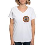 USS JAMES MONROE Women's V-Neck T-Shirt