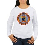 USS JAMES MONROE Women's Long Sleeve T-Shirt