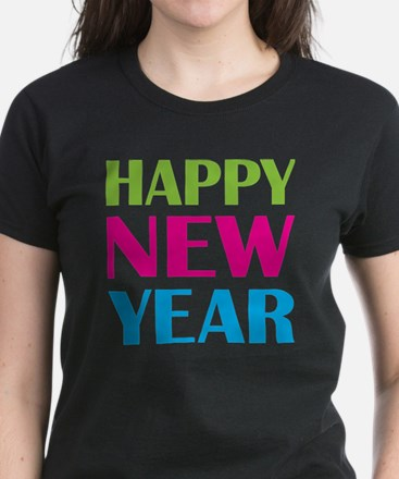 NEW YEAR Women's Dark T-Shirt