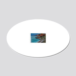 Big Sur shirt 20x12 Oval Wall Decal