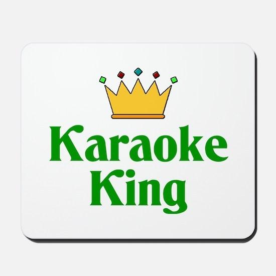 Karaoke King Mousepad