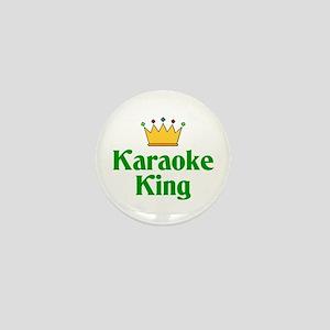 Karaoke King Mini Button