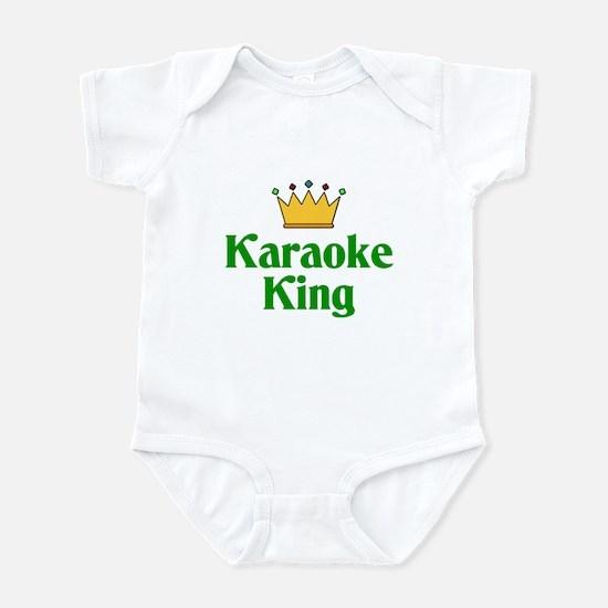 Karaoke King Infant Bodysuit