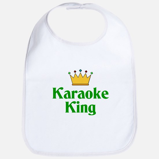 Karaoke King Bib