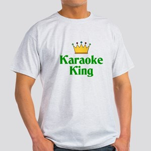 Karaoke King Light T-Shirt