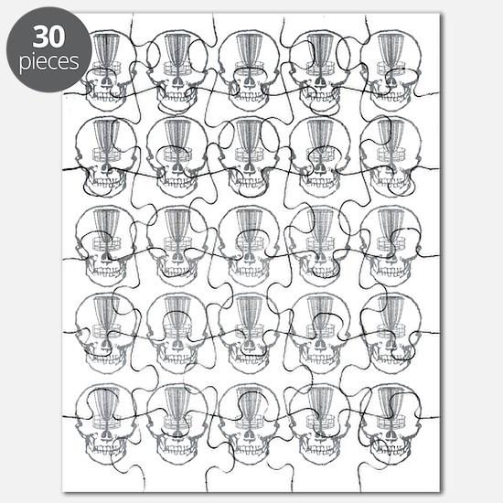 Many Mini Skull Catchers Metal Puzzle