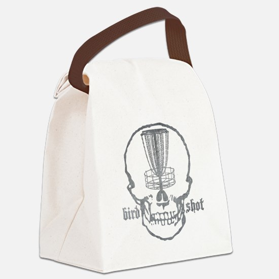 Skull Catcher Metallic Canvas Lunch Bag