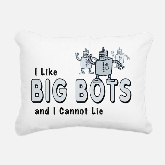 BigBots_smalls Rectangular Canvas Pillow