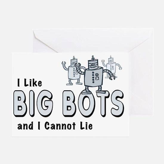 BigBots_smalls Greeting Card